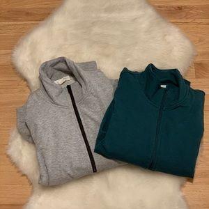 Treasure & Bond Zip Up Sweatshirt: Lot of 2